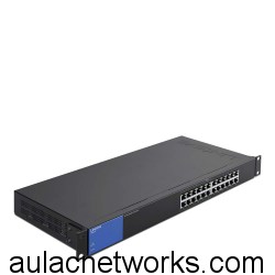 Linksys LGS124P 24-Port Gigabit POE+ Switch