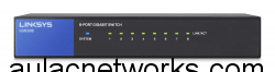 Linksys LGS108 8-Port Desktop Gigabit Switch