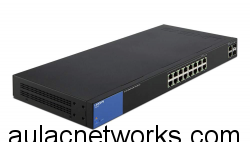 Linksys LGS318P 18-Port Gigabit Smart Switch POE+