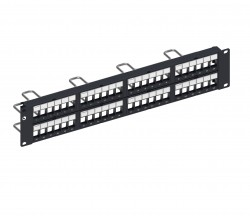 CommScope® SL DDM Patch Panel, UTP, 2U, 48 port Straight