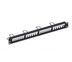 CommScope® SL DDM Patch Panel, UTP, 1U, 24 port, Straight